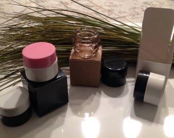Kraft Lip Balm Jar Box - 10 Pack