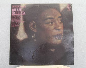 """Billie Holiday - """"Stormy Blues"""" vinyl records, 2 LPs"""