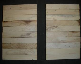 20  BEECHNUT WOOD Turning Wood Pen  Razor Blanks #B4