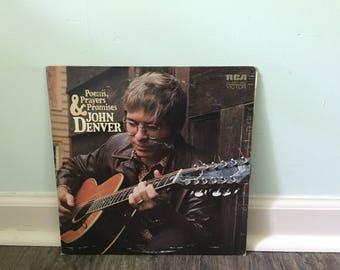 """John Denver """"Poems, Prayers and Promises"""" vinyl record"""
