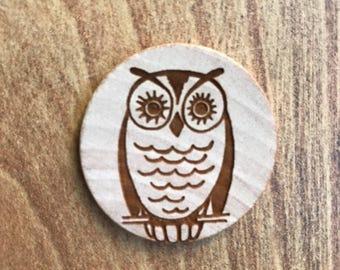 Owl Magnet - Neodymium