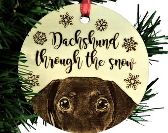 how to make a felt dachshund christmas ornament