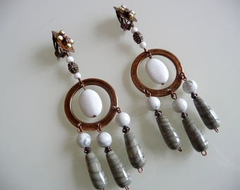Authentic ethnic, Bohemian chic earrings