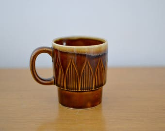 Brown Stack-able Mug