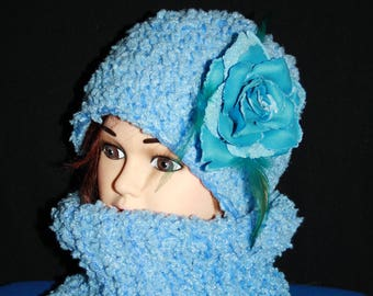 all closed collar and blue newborn Hat