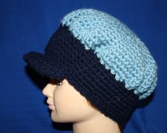 (blue and dark blue) winter Hat very warm