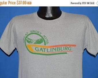 XMAS in JULY SALE 80s Great Smokey Mountains Gatlinburg t-shirt Small