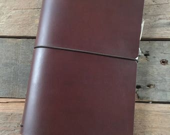 LEATHER MOLESKINE JOURNAL Cover for Moleskine Cahier Large Size
