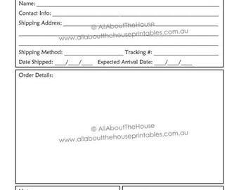 Custom order form | Etsy