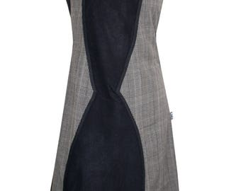 Dress in gray wool Chilia Flyou