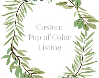 Pop of Color Prayer Bracelet Listing