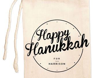 Hanukkah Bags, Custom Hanukkah Gift Bags, Hanukkah Party Favor Bags, Personalized Hanukkah Gift, Holiday Favor Bags, Hanukkah Gift Ideas