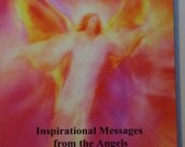 SACRED VISION Angelic  Guidance Book by Glenyss Bourne with 82 of her Stunning Angel Paintings - New Edition Signed