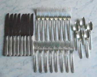 Vintage Rogers Oneida Ltd Flatware Set Timeless Styling By