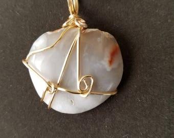 Quartzite  pendant
