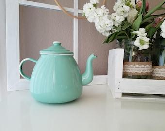 Emalia Olkusz Enamel Teapot
