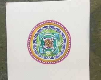 Rainbow Connection Mandala