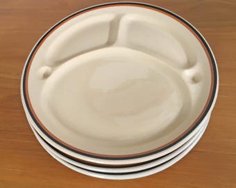 McNicol Divided Plates - Set of 3