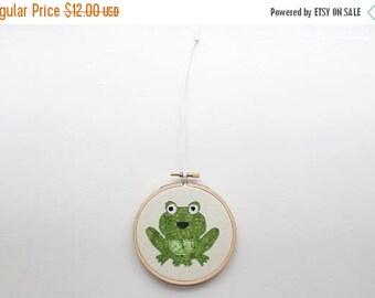 ON SALE filbert frog