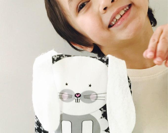 Reusable Lined Zipper Bag- Bunny (FREE SHIPPING)