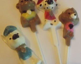 Paw Patrol Chocolate Candy Lollipops