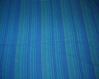 Swedish Design - Wool Blanket - 60s - Viola Gråsten - Tidstrand - Snark - Blue -