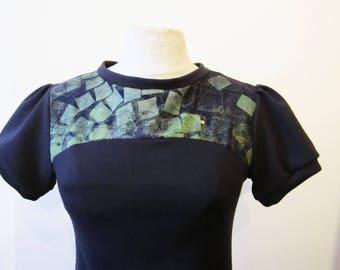 little jersey dress cotton screen printed