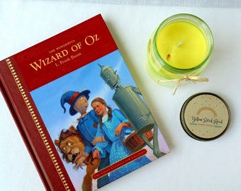 Yellow Brick Road Scented Artisan All Natural Soy Wax Candle  WIzard of Oz Dorothy inspired