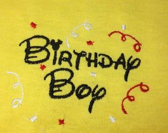 Disney Birthday Shirt - Disney - Youth