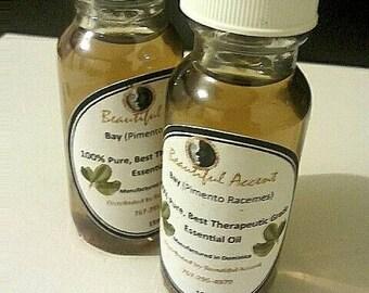 100% Pure Therapeutic Grade Bay ( Pimento Racemes) Essential Oil