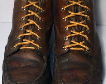 Red Wing® Classic Moc Brown  Leather Work boots Men's Size 9.5 E