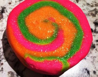 Rainbow Sherbet - Bubble Bath Bar - Solid Bubble Bath