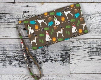 English Pointer, English Pointer Gifts, English Pointer Mom, Wristlet, iPhone Bag, Phone Wristlet, Phone Case, Wristlet Wallet, Dog Mom, Dog