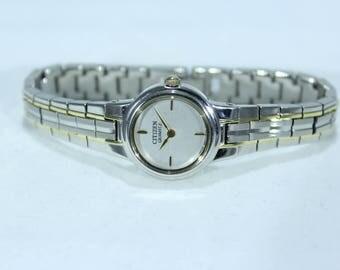 Vintage Woman's Citizen 261543 Quartz Watch