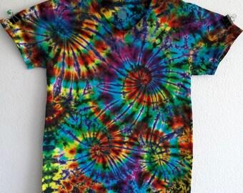 V-Neck Small Tie Dye Shirt!