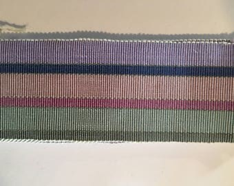 Beautiful French antique ribbon from the 1930s
