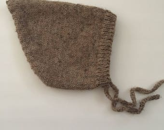 Toddler Knitted Pixie Bonnet