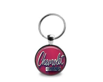 Vintage Chevrolet Camaro Key Chain or Pendant