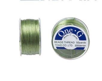 Reel 46 m One - G (Toho) 0.25 mm GREEN thread