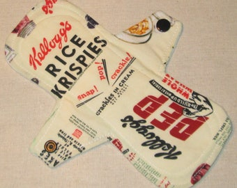 Vintage Cereals 8 in. Cloth Pantyliner