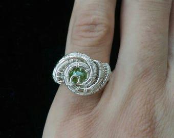 Peridot ring size 5