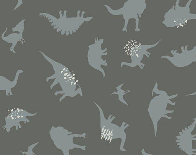 Dinomania in Subtle- Knit- Esoterra by Katarinca Roccella for Art Gallery Fabrics