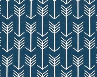 Arrows Cushion Cover - Navy Chevron Euro Shams - Navy Throw Pillow Cover