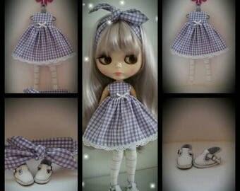 Blythe gingham dress set