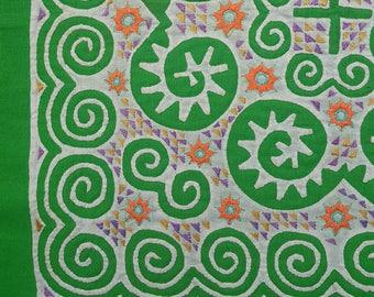 Hmong reverse applique on cotton fabric (H269)