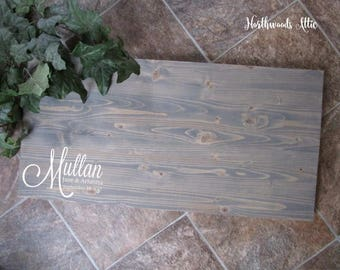 Wedding Guest Book Alternative Wood Sign - Guest Sign In Alternative - Personalized Rustic Wood Sign - Choose Your Colors - MADE TO ORDER