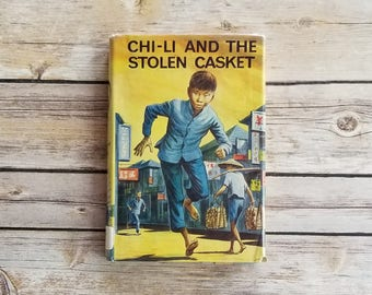 Chi-Li And The Stolen Casket Ambrose Haynes Hong Kong Book Suspense Teen Thriller Christian Book Adventure Communism Fiction Library Book