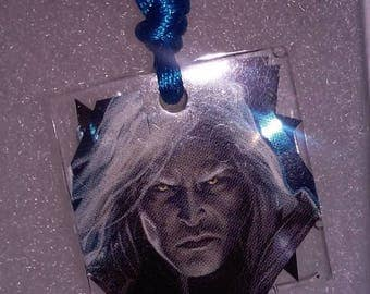 wizard man pendent on nylon cord