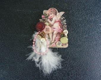 Victorian Angel Brooch/Pin