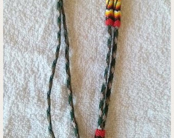 Native American Beaded lanyards